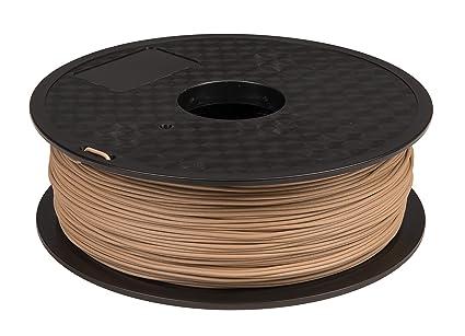 Janbex PLA Filamento 1,75 mm 1 kg rollo para impresoras 3D (madera ...