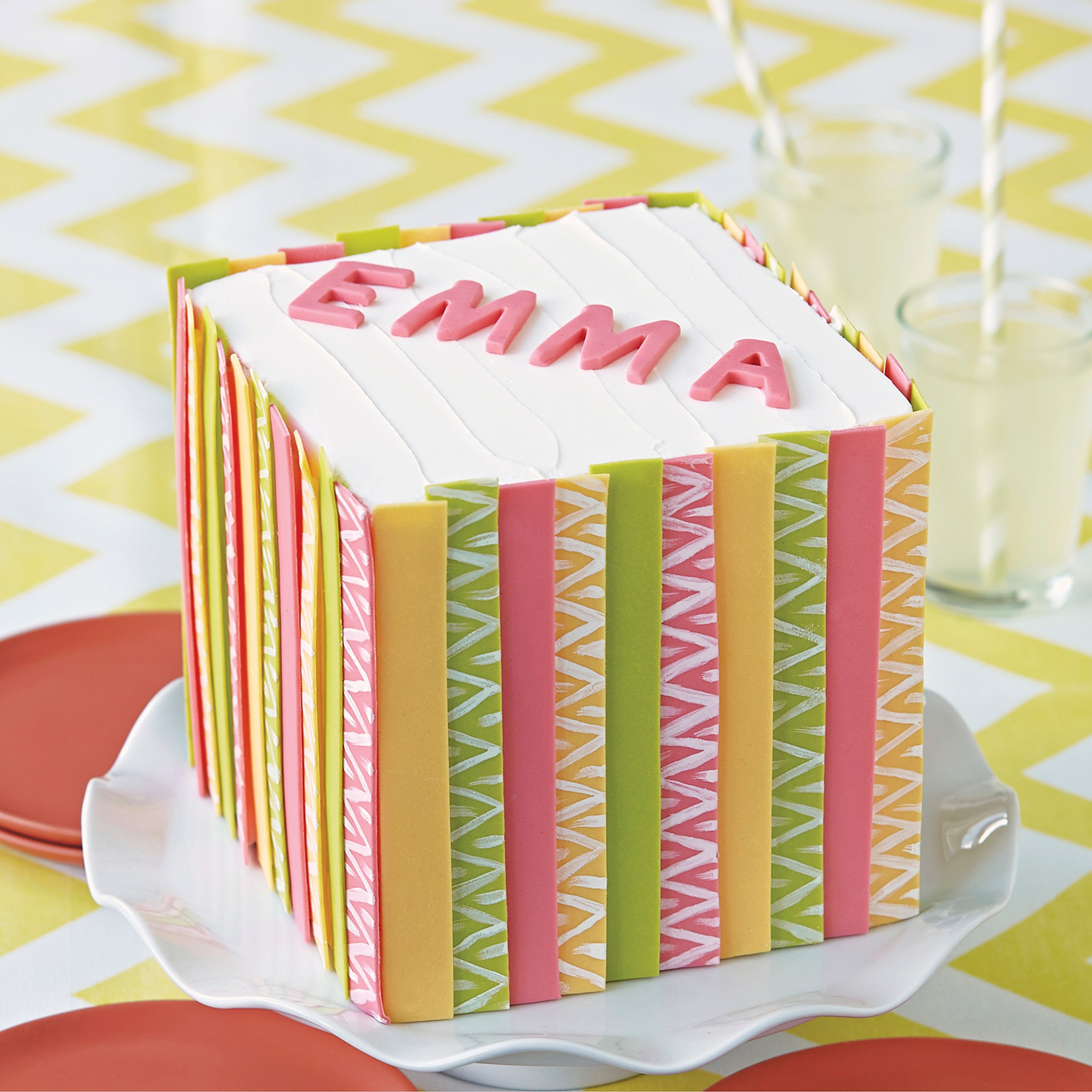 Wilton Silicone Letters and Numbers Fondant and Gum Paste Molds, 4-Piece - Cake Decorating Supplies by Wilton (Image #5)