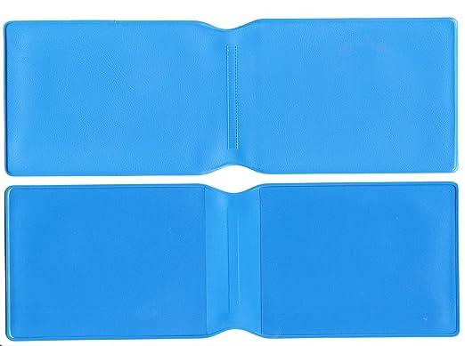 5 x luz Azul plástico Tarjeta Oyster Tipo Cartera/Cartera de ...