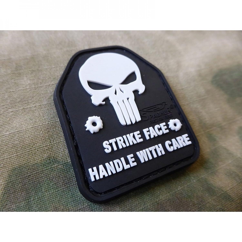 Jackets To Go JTG SAPI Plate Punisher Patch SWAT//JTG 3D Rubber Plattentr/äger