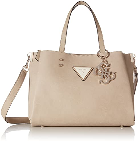 Guess Jade, Women's Shoulder Bag, Beige (