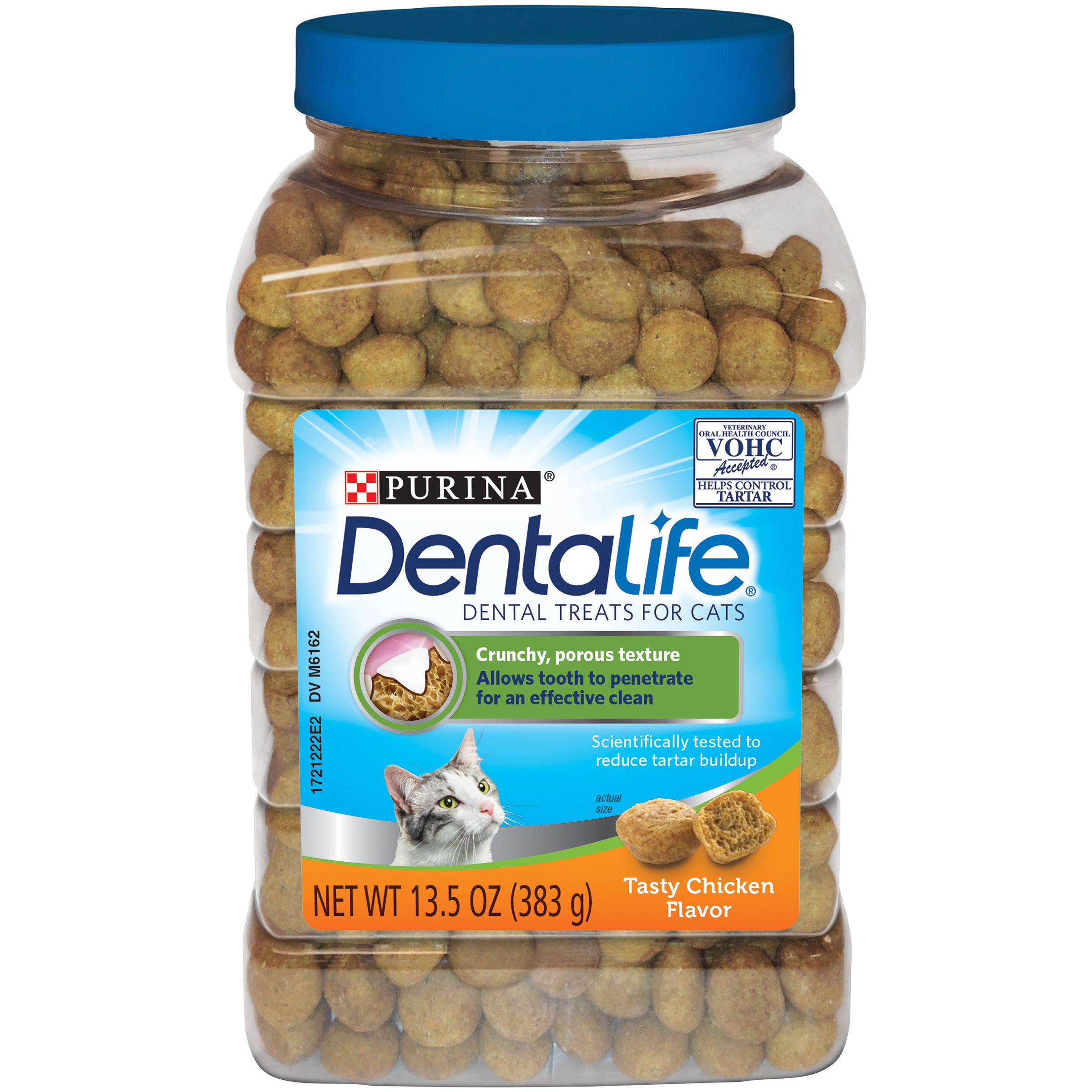 Purina DentaLife Dental Cat Treats Standard Packaging Chicken Flavor
