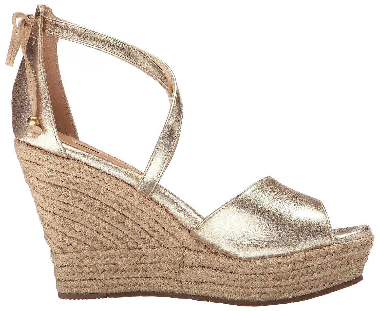 d0c3c3360cb UGG Women's Reagan Metallic Wedge Sandal