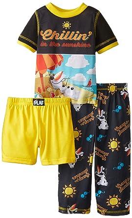 61451239b Amazon.com  Disney Little Boys  Toddler Frozen Olaf Chillen 3 Piece ...