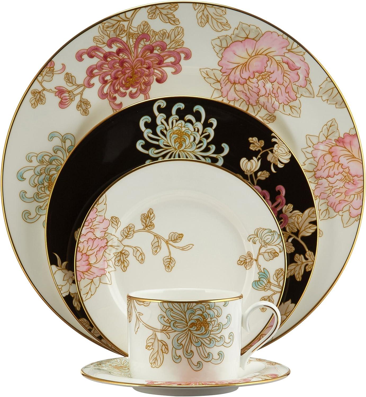 Lenox Marchesa 5-Piece Place Setting, Painted Camellia, White - 818520