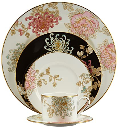 Lenox Marchesa 5-Piece Place Setting Painted Camellia  sc 1 st  Amazon.com & Amazon.com | Lenox Marchesa 5-Piece Place Setting Painted Camellia ...