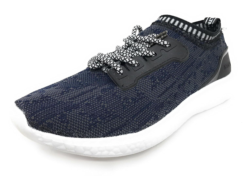 Blue berry EASY21 Women's Fashion Sneaker Breathable Athletic Sport Running Tennis Shoes B071G9WQ81 41 M EU|Navy/White