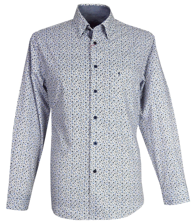 Gabicci - Camisa Casual - Cuello Tab - para Hombre Azul Blue ...