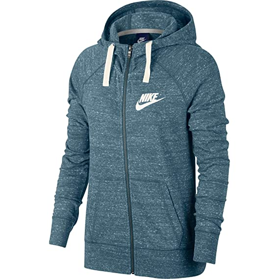 Nike W NSW Gym Vintage FZ, Women's Hoodie