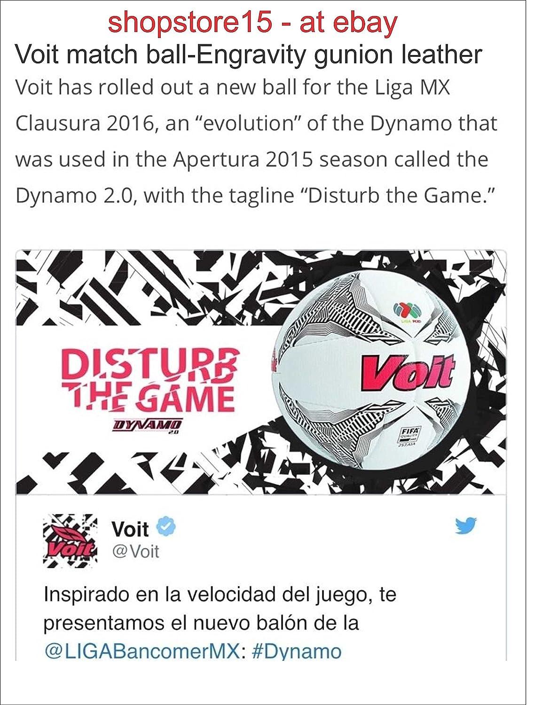 New Voit Dynamo Match Balón de fútbol Talla 5 2016 Liga MX & Liga ...