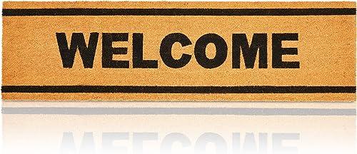 Sempiternity Premium Doormat Heavy Duty Doormat Indoor Outdoor Durable Rubber Door Mat 29×17 , High Traffic Areas, Low-Profile Mats, Entry, Patio, Waterproof, Easy Clean
