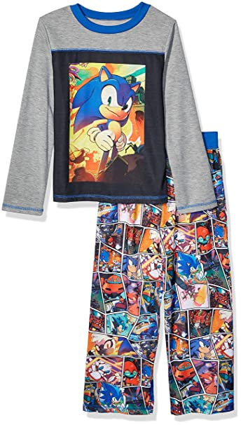 Sonic The Hedgehog Mens Pyjama Lounge Set