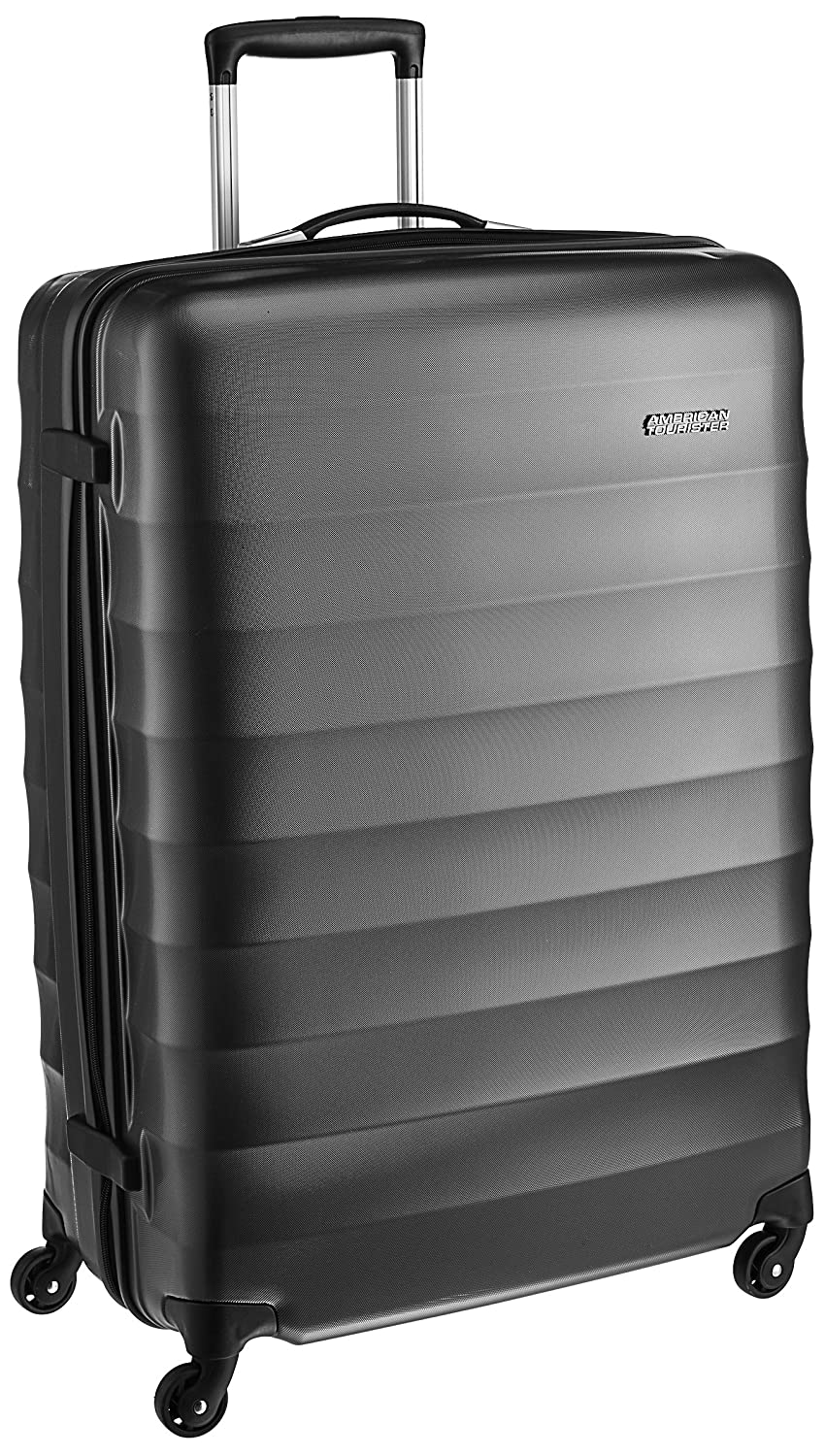 263910796 American Tourister Polyester 79 cms Gunmetal Hardsided Suitcase (71W (0) 58  003): Amazon.in: Bags, Wallets & Luggage