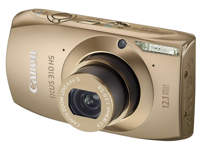 Canon IXUS 310 HS Digital Camera - Gold 3.2 inch: Amazon.co.uk: Camera &  Photo