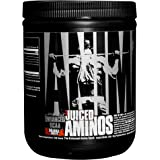 Universal Nutrition Animal Juiced Aminos Enhanced BCAA and EAA Instantized Amino Acid Supplement, Orange, 30 Count