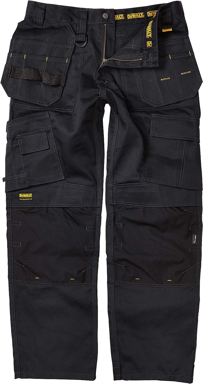 Pro Tradesman Black Trousers Waist 34in Leg 33in DEWALT