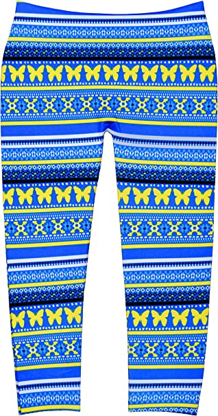 Crush Girls Stretchable Leggings in Comfortable Prints for Toddlers Youth /& Teens 22616