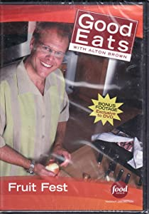 Food Network Takeout Collection DVD - Good Eats With Alton Brown - Fruit Fest Includes Apple Family Values / Strawberry Sky / Top Banana