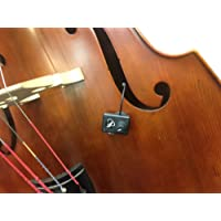 "UPRIGHT BASS PICKUP, with FLEXIBLE MICRO-GOOSE NECK by Myers Pickups ~ See it in ACTION! Copy and paste: myerspickups.com. All Upright Bass Pickups include our NEW ""ARC"" Adjustable Ratchet Clip with Rubber Pads!!!"