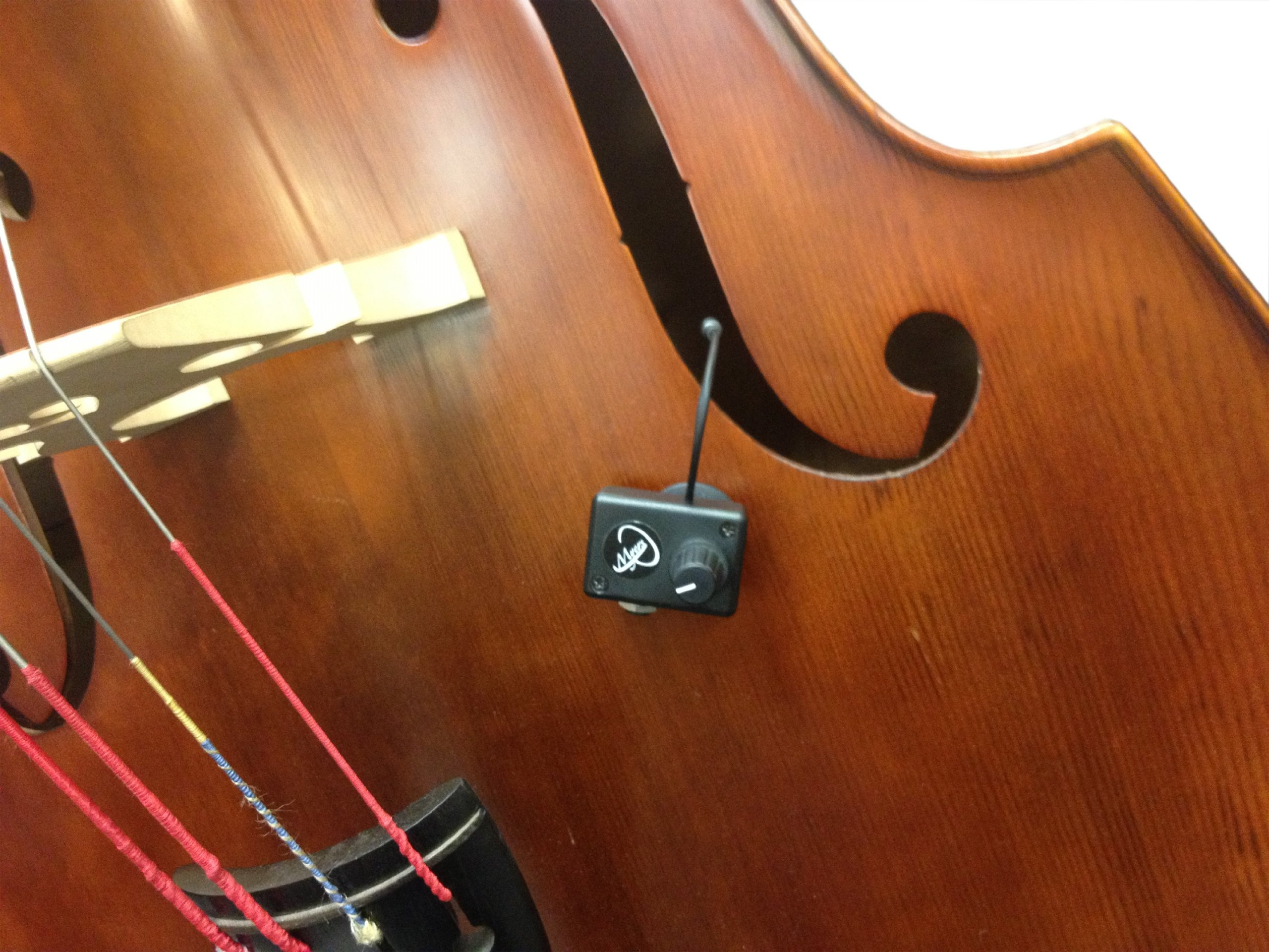 UPRIGHT BASS PICKUP, with FLEXIBLE MICRO-GOOSE NECK by Myers Pickups ~ See it in ACTION! Copy and paste: myerspickups.com