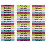50 Etiquetas adhesivas para marcar objetos 6 x 1cm (PALETA 9)