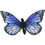Anima - Peluche Papillon Bleu - 13 cm 14xcm