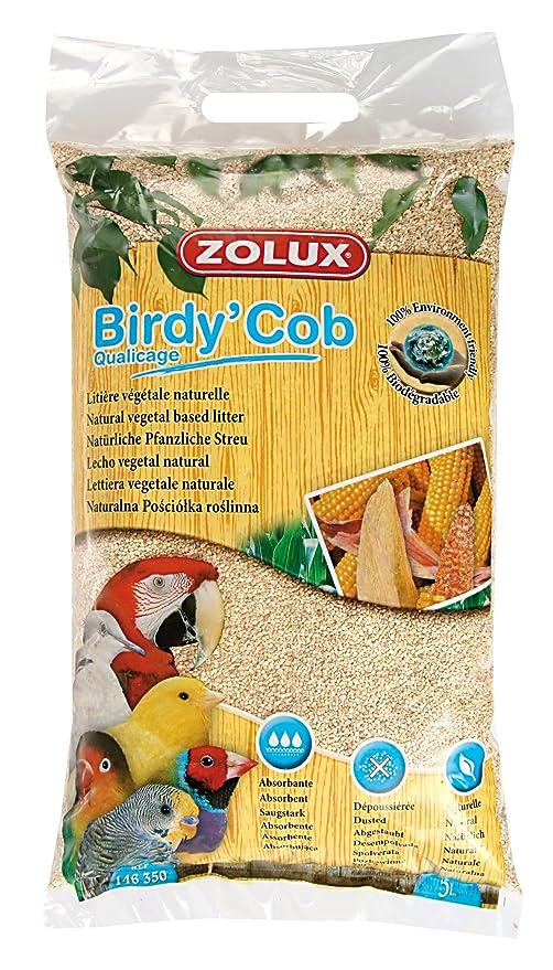 Fondo de arena de jaula pájaros Birdy COB qualicage 5 litros ...