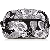 Vera Bradley Women's Signature Cotton Cosmetic Makeup Organizer Bag