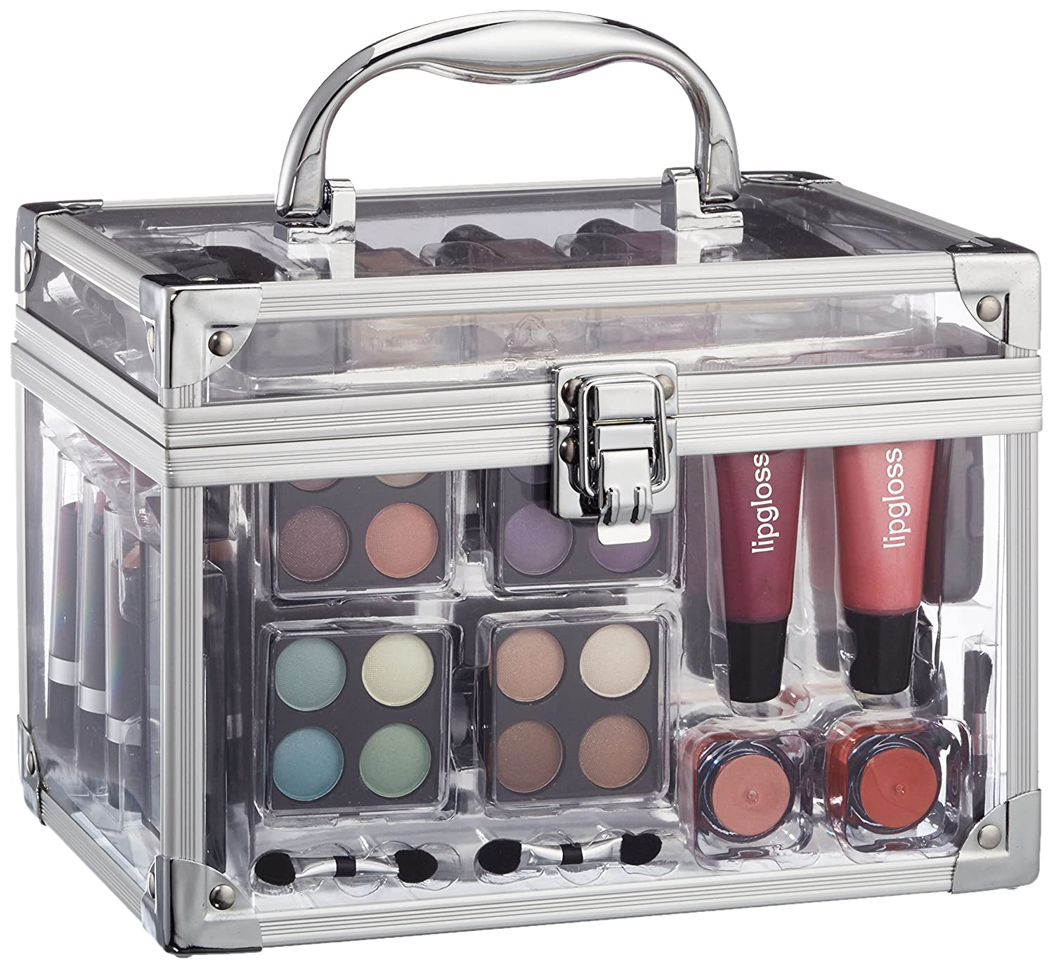 Makeup Trading, Paleta de maquillaje Set Transparent - 102 gr. Briconti Gmbh Spain SCHMINK605