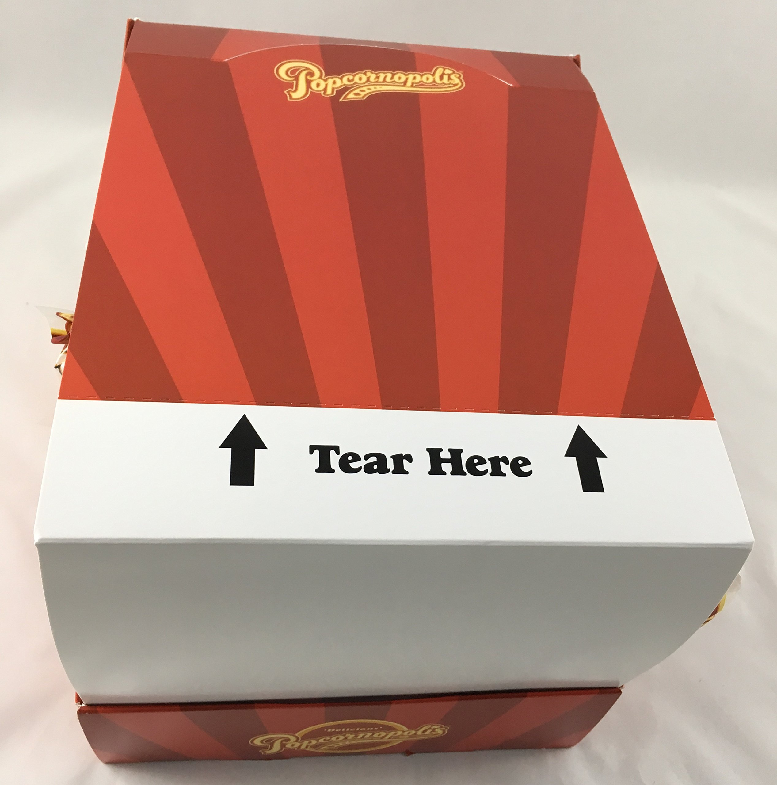 Popcornopolis Caramel Mini Cones 24ct. with Display Box, Great for Party Favors, & Snackrooms by Popcornopolis (Image #3)