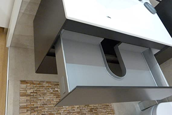 Mueble de baño GUADIX D80: Amazon.es: Hogar