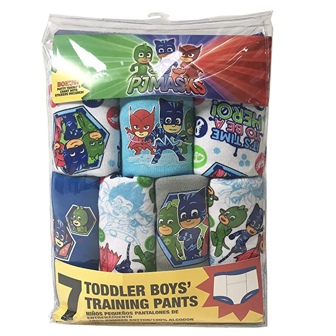 Amazon.com: Handcraft Toddler Boys Pj Mask 7 Pack Training Pants: Clothing