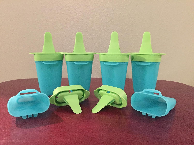 Amazon.com: Tupperware Lollitups Freezer Popsickle set: Ice Pop ...