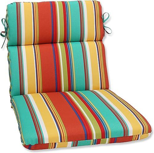 Pillow Perfect 575421 Outdoor/Indoor Westport Spring Round Corner Seat Cushion
