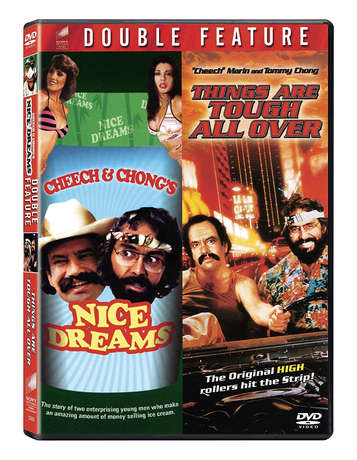 American actor and musician Tommy Chong: biography, creative activity and family