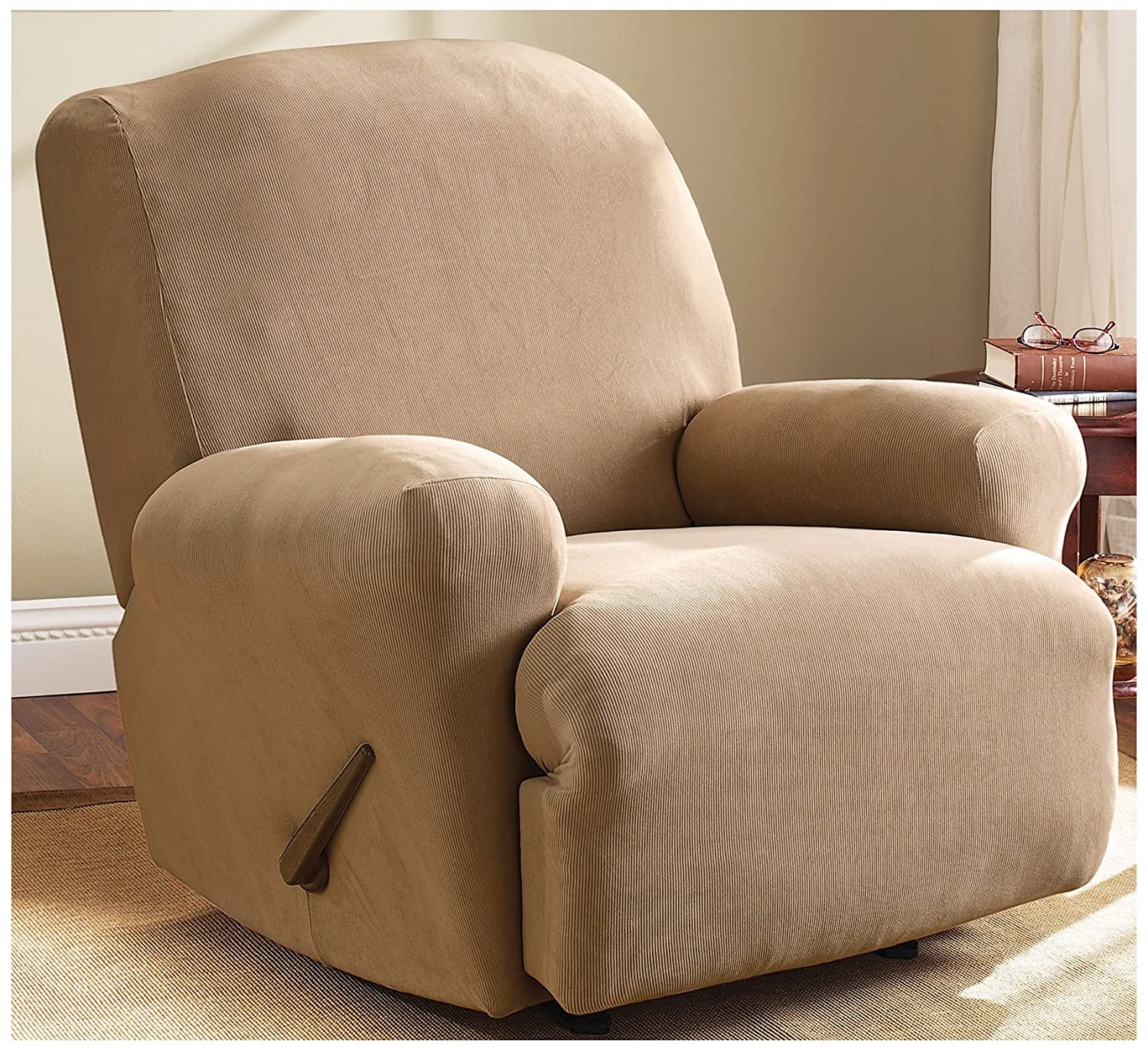 Amazon Sure Fit Stretch Pearson Recliner Slipcover Home