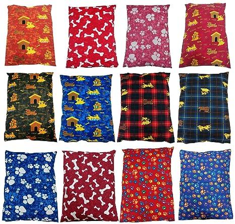 Cubiertas y cojines para cama de perro con cremallera, tamaño grande, 73,66
