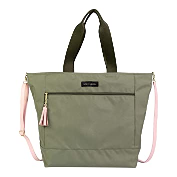 Amazon.com: Logan + Lenora Weekender - Bolsa de viaje ...