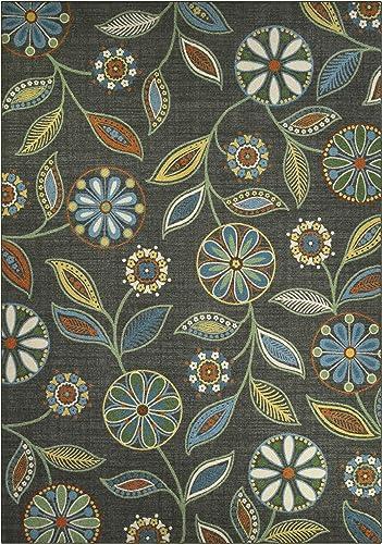 Maples Rugs Reggie Floral Area Rug