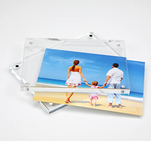NIUBEE Marco de Fotos, Marco de Fotos de Cristal 9x13cm, Regalos de Cumpleaños y Vacaciones: Amazon.es: Hogar