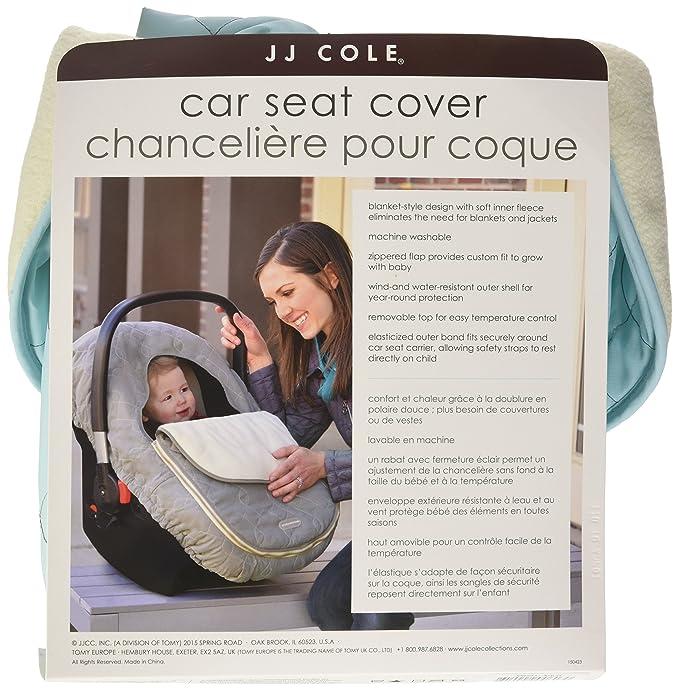 JJ Cole Car Set Cover Aqua Amazonca Baby
