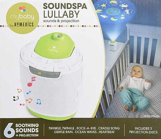 Amazon.com: Sonajero y proyector myBaby SoundSpa: Baby