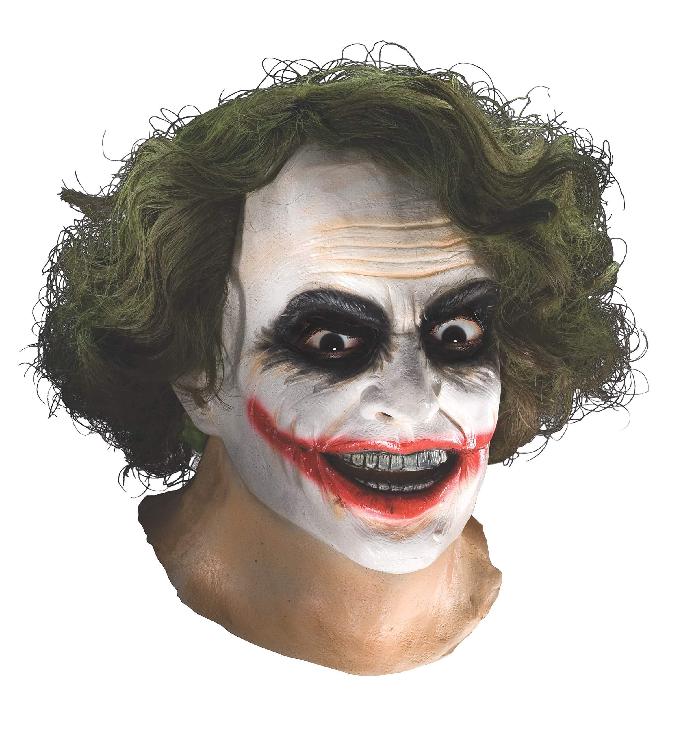 ویکالا · خرید  اصل اورجینال · خرید از آمازون · Batman The Dark Knight Adult Joker Latex Mask With Hair, Adult One Size wekala · ویکالا