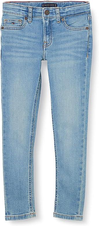 Ocean Light Blue Stretch 1AA 3-4 Years Tommy Hilfiger Boys Simon Skinny OCLBST Jeans Blue