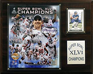 product image for NFL New York Giants Super Bowl XLVI Limited Edition 12 x 15 Champions Plaque