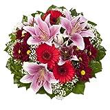 Blumenstrauß  Charlotte mit rosa Lilien