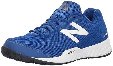 san francisco 2f7eb e5d2c New Balance Men s 896v2 Tennis Shoe, Royal, 7.5 D US