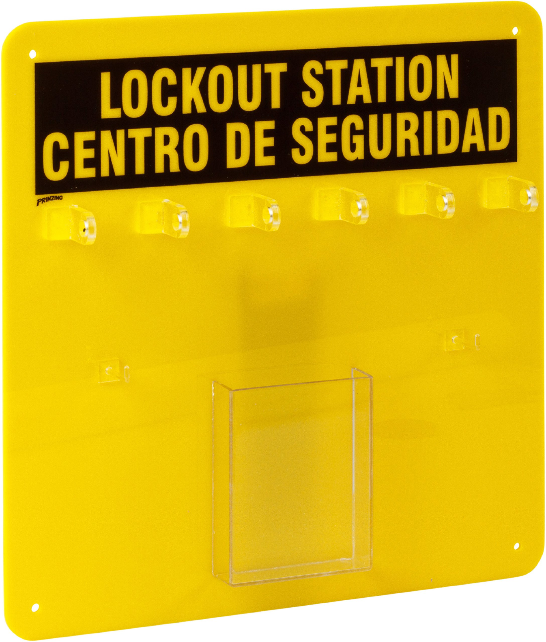 Brady LC210G Prinzing Lockout Center Bilingual (1 Each)