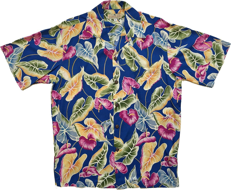 Pineapple Juice Mens Anthurium Shirt
