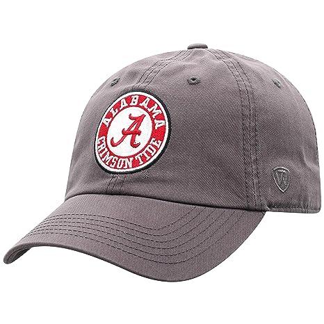 on sale 5def0 674ff Top of the World Alabama Crimson Tide Men s Hat Arch, Charcoal, Adjustable